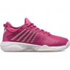 K-Swiss Women's Hypercourt Supreme Tennis Shoe, Barely Nimbus, Cloud/White/Cactus Flower -