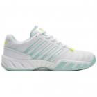 K-Swiss Women's Bigshot Light 4 Tennis Shoes (White/Icy Morn/Love Bird) -