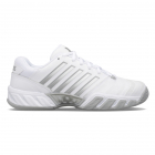 K-Swiss Women's Bigshot Light 4 Tennis Shoes (White/High-Rise/Silver) -