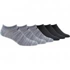 Adidas Men's Superlite Low Cut Socks, Onix/Black (6-Pair) -
