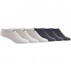 Adidas Men's Superlite Low Cut Socks, White/Black (6-Pair) -