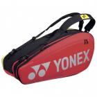 Yonex Pro 6 Racquet Tennis Bag (Red) -