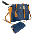 NiceAces Women's BALA Handmade Vegan Tennis and Laptop Bag (Blue) -