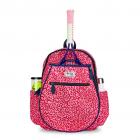Ame & Lulu Big Love Kid's Tennis Backpack (Pink Leopard) -