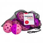 Gamma Two Tone Indoor Pickleball Training Balls (12-Pack) -