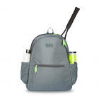 Ame & Lulu Courtside Tennis Backpack 2.0 (Charcoal/Lime) -