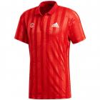 Adidas Men's Freelift Tennis Polo Engineered (Scarlet/White) -