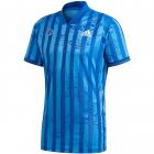 Adidas Men's Freelift Tennis Tee Engineered (Team Royal Blue/White) -