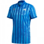 FT5811 Adidas Men's Freelift Tennis Tee Engineered (Team Royal Blue/White)