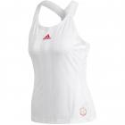 Adidas Women's Y-Tank Engineered Tennis Tank Top (White/Scarlet) -