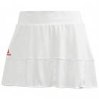 Adidas Women's T Match Tennis Skirt Engineered (White/Scarlet) -