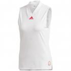 Adidas Women's T Match Tennis Tank Engineered (White/Scarlet) -