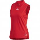 Adidas Women's T Match Tennis Tank Engineered (Scarlet/Signal Pink) -