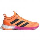 Adidas Men's Adizero Ubersonic 4 Tennis Shoe (Screaming Orange / Core Black / Screaming Pink) -