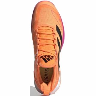 FX1366 adidas Men's Adizero Ubersonic 4 (Screaming Orange / Core Black / Screaming Pink)