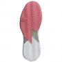 FX1370 Adidas Women's Adizero Ubersonic 4 Tennis Shoe (Acid Orange/Silver Metallic/Hazy Rose)