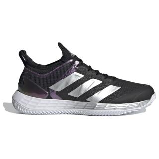 FX1374 Adidas Women's Adizero Ubersonic 4 Clay Tennis Shoe (Core Black/Silver Metallic/Cloud White)