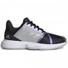 Adidas Women's CourtJam Bounce Tennis Shoe (Core Black/Silver Metallic/Grey Two) -