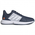 Adidas Men's CourtJam Bounce Tennis Shoes (Crew Navy / Cloud White / Halo Blue) -