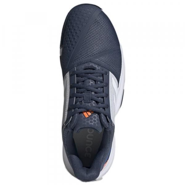FX4103 adidas Men's CourtJam Bounce tennis shoes (Crew Navy / Cloud White / Halo Blue)