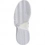 FY2831 Adidas Men's CourtJam Bounce Tennis Shoe (Flat White/Core Black/Silver Metallic)