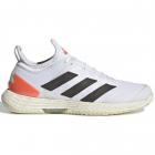 Adidas Women's adizero Ubersonic 4 Tokyo Tennis Shoes (Cloud White/Core Black/Solar Red) -
