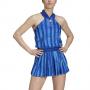 GH3686 Adidas Women's All-in-one Tennis Dress Engineered Aeroready (Team Royal Blue/White)