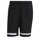 Adidas Men's Standard Club Tennis Shorts (Black/White) -