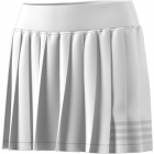 Adidas Women's Club Tennis Pleatskirt (White/Grey) -