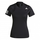 Adidas Women's Standard Club Tennis Tee (Black/White) -