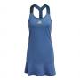 GL6204.Adidas Women's Tennis Y-Dress (Crew Blue/Acid Yellow)