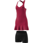 Adidas Women's Tennis Y-Dress Primeblue Aeroready (Scarlet/Black) -