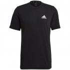 Adidas Men's Feelready Tennis Tee (Black/White) -