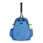 Ame & Lulu Game On Tennis Backpack (Blue Leopard) -