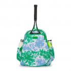 Ame & Lulu Game On Tennis Backpack (Green Blue Tie-Dye) -