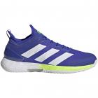 adidas Men's Adizero Ubersonic 4 Tennis Shoes (Sonic Ink/White/Signal Green) -