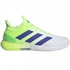 adidas Men's adizero ubersonic 4 Tennis Shoes (Signal Green/Sonic Ink/White) -