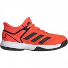Adidas Junior Ubersonic 4 Tennis Shoes (Solar Red/Black/White) -