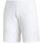adidas Men's Ergo 7 inch Tennis Shorts (White/Black) -