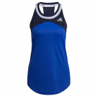 Adidas Women's Club Tennis Tank Top (Bold Blue/Legend Ink/White) -