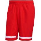 adidas Men's Club 9 inch Tennis Shorts (Vivid Red/White) -