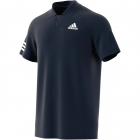 Adidas Men's Club 3 Stripe Tennis Polo Shirt (Legend Ink/White) -