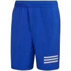 adidas Men's Club 9 inch 3 Stripe Tennis Shorts (Bold Blue/White) -