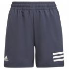 Adidas Junior Boys Club 3 Stripe Tennis Shorts (Legend Ink/White) -