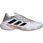 adidas Women's Barricade Tennis Shoes (Gray Two/Core Black/Ambient Blush) -