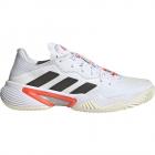 adidas Women's Barricade Tennis Shoes (White/Core Black/Solar Red) -