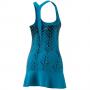 HB6190 Adidas Women's Tennis Y-Dress (Sonic Aqua)