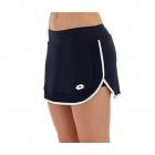 Lotto Women's Squadra Tennis Skirt (Navy Blue/White) -