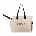 Ame & Lulu Love All Tennis Court Bag (Pink Love) -