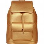SportsChic Women's Vegan Maxi Tennis Backpack (Bronze) -